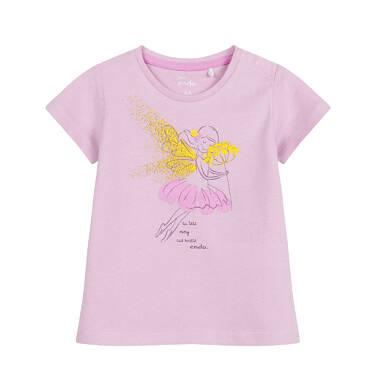 Endo - Bluzka dla dziecka do 2 lat, z wróżka, rózowa N03G045_1 36