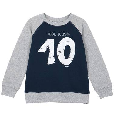 Endo - Bluza przez głowę z rękawem typu reglan dla chłopca 3-8 lat C62C011_1