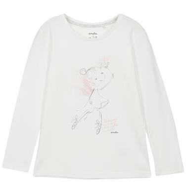 Endo - Bluzka z długim rękawem dla dziewczynki 3-8 lat D62G029_1