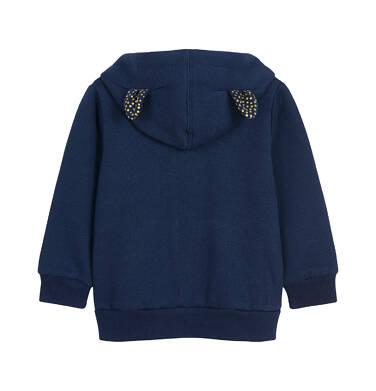 Endo - Bluza rozpinana z kapturem dla dziecka 0-3 lata N92C011_1