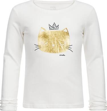 Endo - T-shirt z długim rękawem dla dziewczynki 9-13 lat D82G622_1
