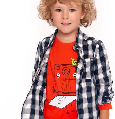 Endo - T-shirt z długim rękawem dla chłopca 3-8 lat C92G107_1