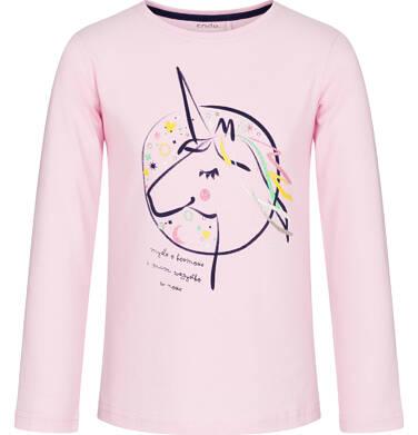 Endo - Bluzka z długim rękawem dla dziewczynki 3-8 lat D92G088_2