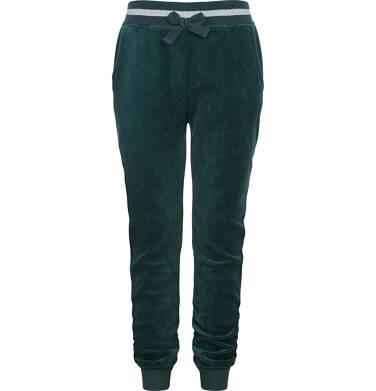 Spodnie welurowe dla dziewczynki 9-13 lat D82K512_1
