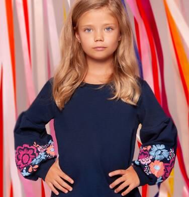 Endo - Bluza przez głowę dla dziewczynki 3-8 lat D82C028_1