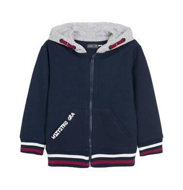 Endo - Bluza rozpinana z kapturem dla dziecka 0-3 lata N92C019_1