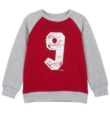 Bluza z rękawem typu reglan i ściągaczami dla chłopca 9-12 lat C62C528_1