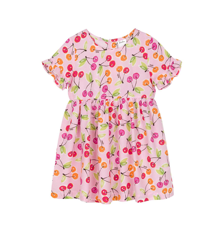 Endo - Sukienka z krótkim rękawem dla dziecka 0-3 lata N91H028_1