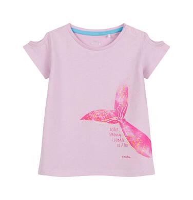 Endo - Bluzka dla dziecka do 2 lat, z syrenim ogonem, różowa N03G053_1 34