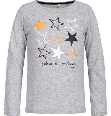 Endo - T-shirt z długim rękawem dla dziewczynki 9-13 lat D82G598_1