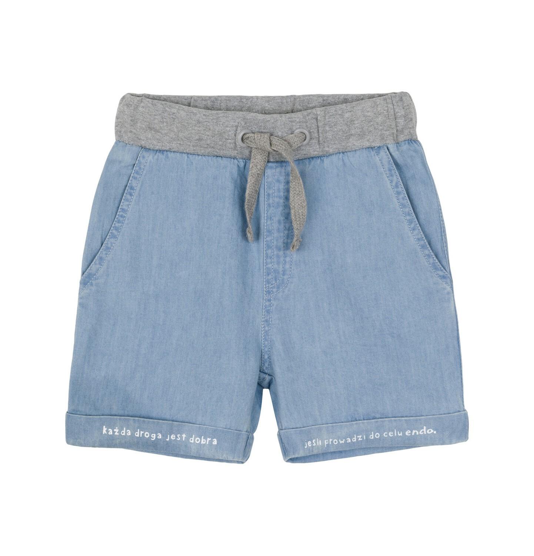 Endo - Krótkie spodenki jeansowe dla dziecka 0-3 lata N91K018_1