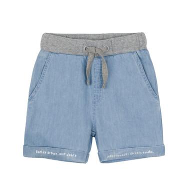 Krótkie spodenki jeansowe dla dziecka 0-3 lata N91K018_1