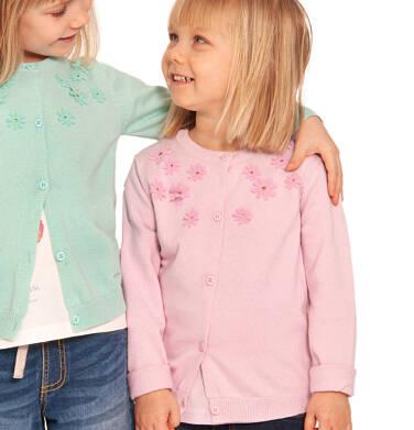 Endo - Sweter dla dziewczynki, z aplikacją 3D, różowy, 2-8 lat D03B001_3 18