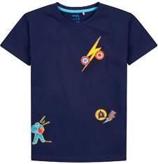 T-shirt dla chłopca 9-13 lat C71G615_1