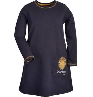 """Endo - """"Powiem dość szczerze, że czasami się jeżę"""" Sukienka z długim rękawem dla dziewczynki 9-13 lat D82H548_1"""