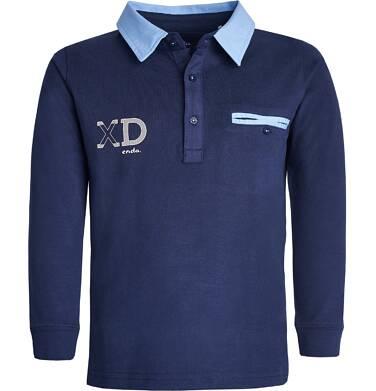 Endo - Koszulka polo z długim rękawem dla chłopca 3-8 lat C82G087_1