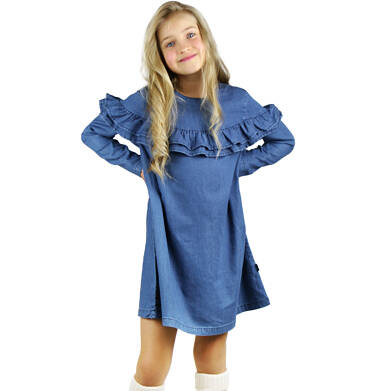 Sukienka z długim rękawem dla dziewczynki 3-8 lat D92H001_1