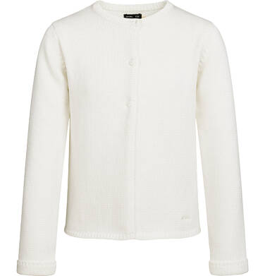Endo - Sweter dla dziewczynki, zapinany na 3 guziki, porcelanowy, 2-8 lat D03B004_1 20