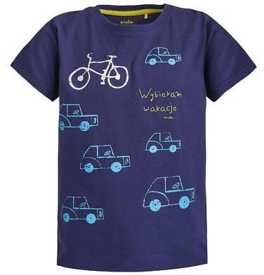 Endo - T-shirt dla chłopca 3-8 lat C81G093_1