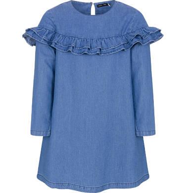 Sukienka z długim rękawem dla dziewczynki 9-13 lat D92H501_1
