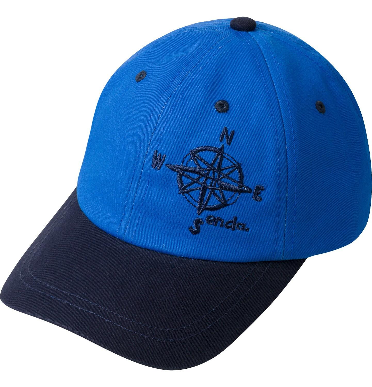 Endo - Czapka z daszkiem dla chłopca, z kompasem, niebieska C03R022_1
