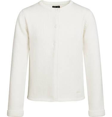 Endo - Sweter dla dziewczynki, zapinany na 3 guziki, porcelanowy, 9-13 lat D03B504_1 229