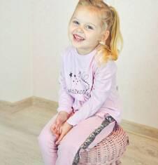 Endo - Tregginsy dla dziewczynki, różowe, 2-8 lat D04K074_2