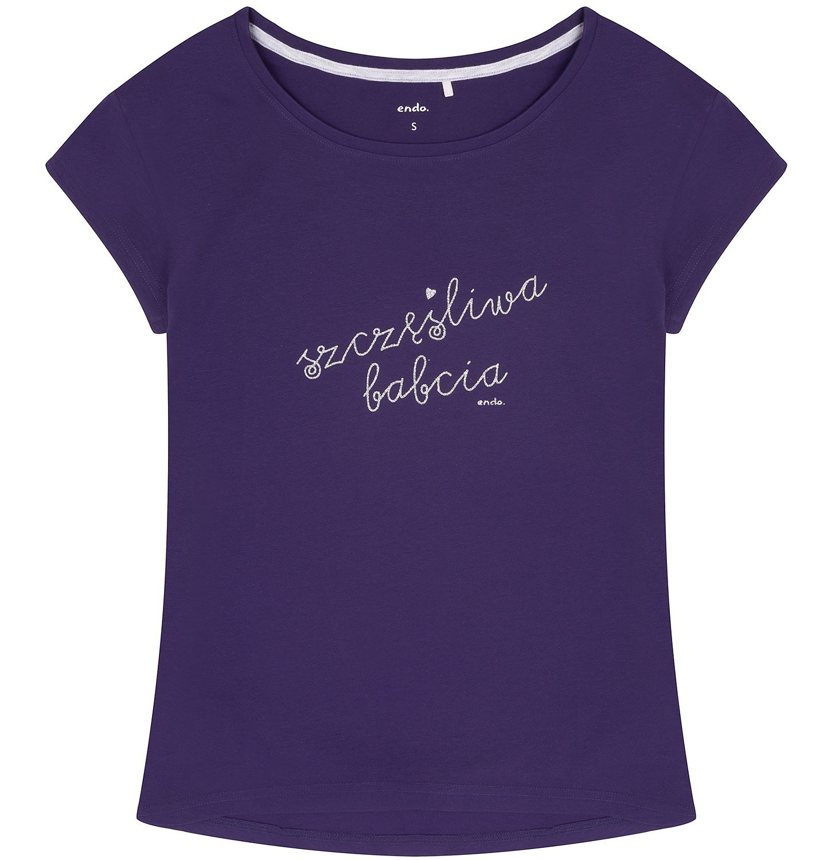 Endo - Bluzka z obniżoną linią ramion damska Y72G014_1
