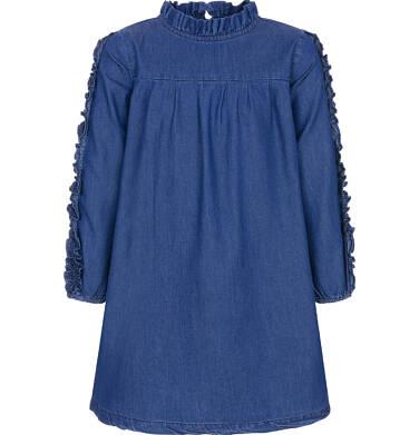 Endo - Sukienka z długim rękawem dla dziewczynki 3-8 lat D92H002_1