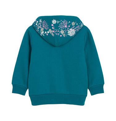 Endo - Bluza rozpinana z kapturem dla dziecka 0-3 lata N92C018_1