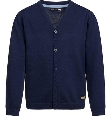 Endo - Sweter dla chłopca, rozpinany, granatowy, 2-8 lat C03B003_1 5