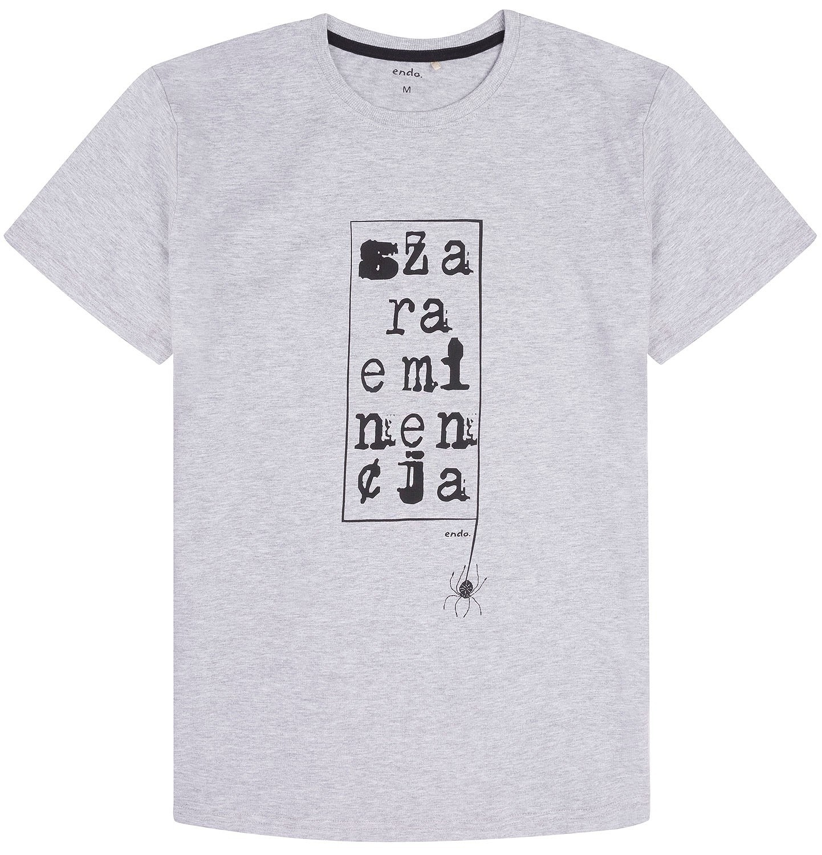 Endo - T-shirt męski Q72G002_1