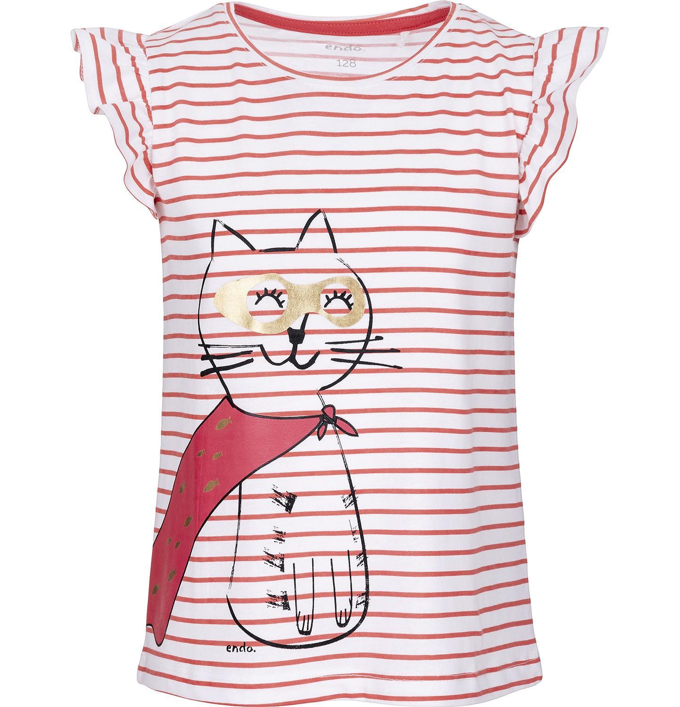 Endo - T-shirt z krótkim rękawem dla dziewczynki 9-13 lat D91G564_1