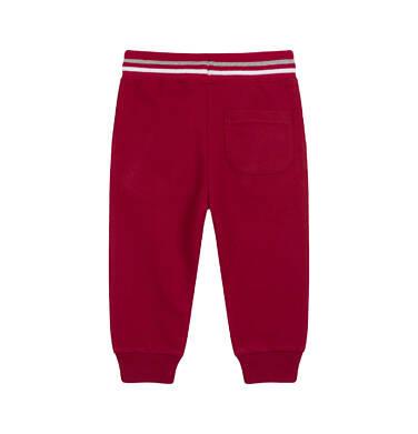 Endo - Spodnie dresowe dla dziecka do 2 lat, bordowe N04K012_1,2