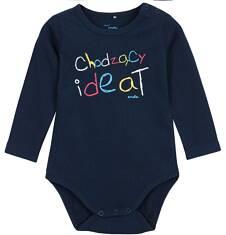 Body z długim rękawem dla niemowlaka N62M005_1