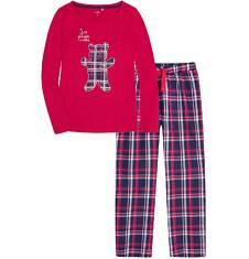 Endo - Piżama z długimi spodniami damska Y72V001_1