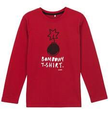 T-shirt z długim rękawem dla chłopca 3-8 lat C62G001_1