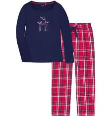 Endo - Piżama z długimi spodniami damska Y72V002_1