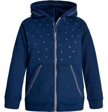 Endo - Bluza rozpinana z kapturem dla dziewczynki 3-8 lat D82C003_1