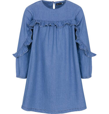 Endo - Sukienka z długim rękawem dla dziewczynki 3-8 lat D92H003_1