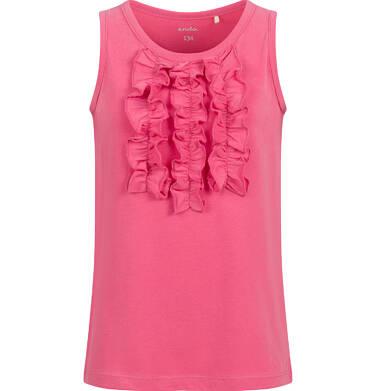 Endo - T-shirt na ramiączkach dla dziewczynki, czerwony, 2-8 lat D03G047_1 22
