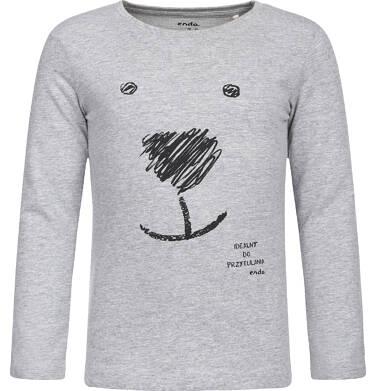 Endo - T-shirt z długim rękawem dla dziewczynki 9-13 lat D82G639_1