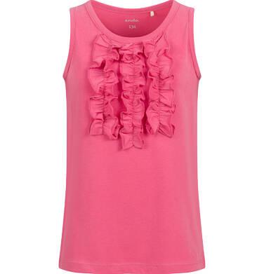 Endo - T-shirt na ramiączkach dla dziewczynki, czerwony, 9-13 lat D03G547_1 169
