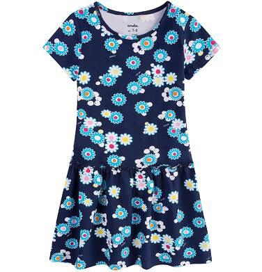 Endo - Sukienka z falbaną dla dziewczynki 9-13 lat D71H572_1