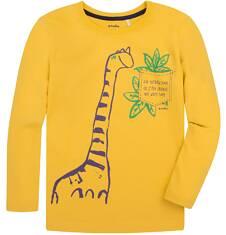 T-shirt z długim rękawem dla chłopca 3-8 lat C72G112_1