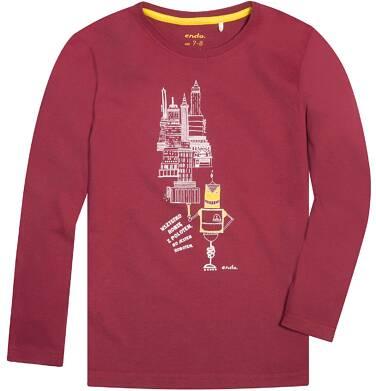 Endo - T-shirt z długim rękawem dla chłopca 9-13 lat C72G544_1