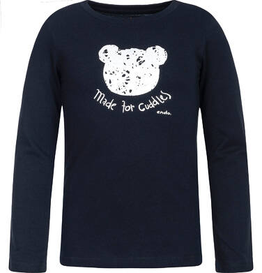 Endo - T-shirt z długim rękawem dla dziewczynki 9-13 lat D82G641_1