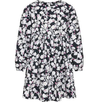 Endo - Sukienka z długim rękawem dla dziewczynki 3-8 lat D92H008_1