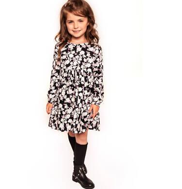 Sukienka z długim rękawem dla dziewczynki 3-8 lat D92H008_1