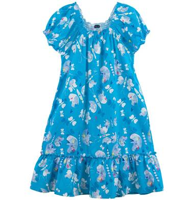 Endo - Rozszerzana sukienka z falbanką dla dziewczynki D61H055_1